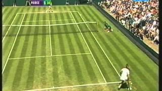 Mary Pierce vs Sandrine Testud Wimbledon 2002