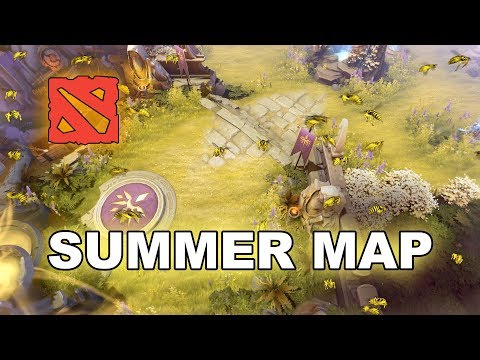 NEW Dota 2 + Update - Summer Map ! thumbnail