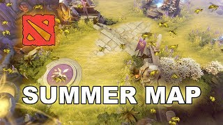 NEW Dota 2 + Update - Summer Map !