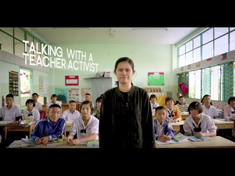 Charm Tong: Inspiring burmese refugee turned teacher activist