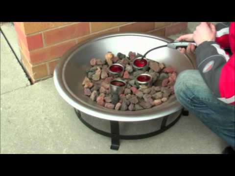 Vulcan firepit ethanol outdoor firepit doovi for Alcohol fire pit