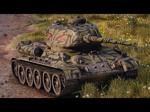 World of Tanks T-34-85 - 8 Kills 4,5K Damage
