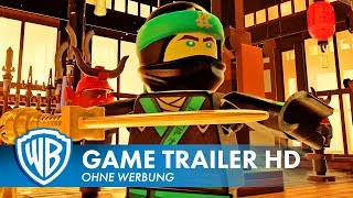 THE LEGO NINJAGO MOVIE VIDEOGAME – Combat Trailer Deutsch HD German (2017)