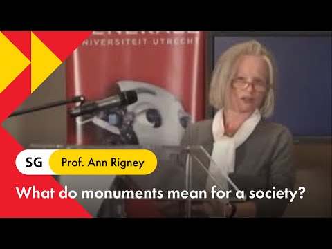 Memories and monuments - prof. Ann Rigney