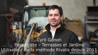 Témoignage Client Rivalis - Cyril – Paysagiste (68)