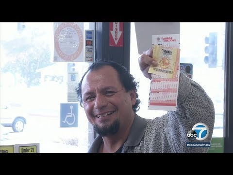 Lotto fever hits SoCal for large Powerball, Mega Millions jackpots | ABC7