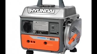 Бензиновый генератор HYUNDAI HHY960A смотреть