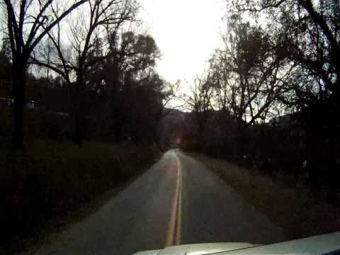 Paradise to Chico California on Honey Run Rd