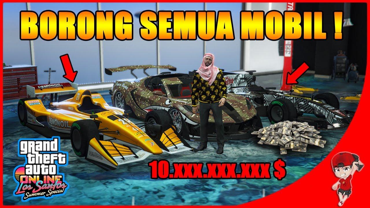 BORONG SEMUA MOBIL !! - GTA 5 ONLINE Summer Special