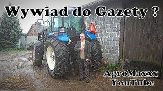 Wywiad do Miesięcznika Rolniczego ! Vlog#121 Będę w Gazecie ?! O.o Odwiedziny Machejfarmers ! :D