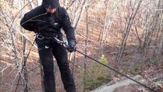 RAPPELLING OUTING,BASICS FOR THE HIKER