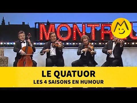 Le Quatuor : les 4 saisons en humour