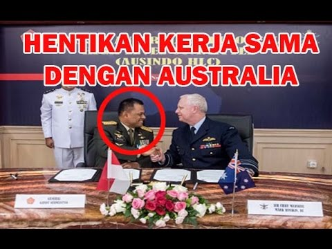 GERAM! Panglima TNI Jendral Gatot Soal Militer Australia Hina Pancasila Terlalu Menyakitkan