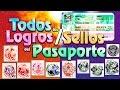 Cómo conseguir los Logros/Sellos del Pasaporte - Pokémon Sol y Luna
