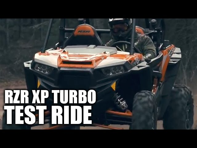 2016 Polaris RZR XP Turbo Review- Dirt Trax TV
