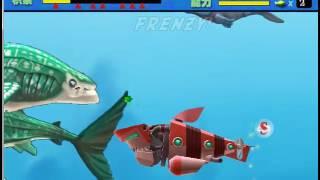 Feeding Frenzy custom level : Hungry Shark World !