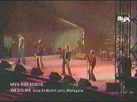 Westlife - Uptown Girl  Live in Malaysia