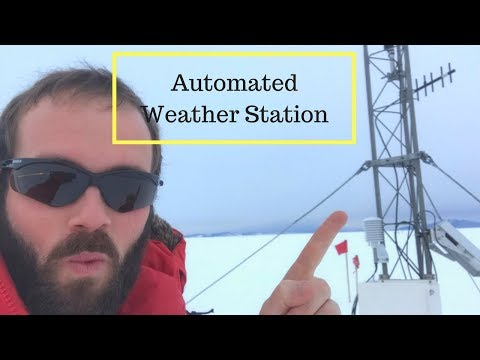 Automated Weather Station In Antarctica - What Is It?