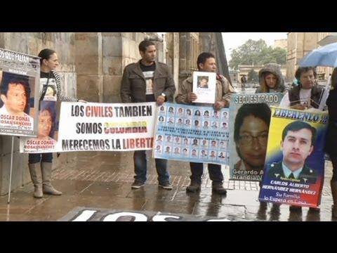 Colombian families demand role in FARC talks