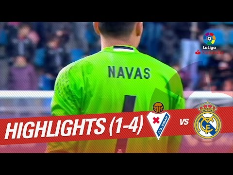 Resumen de SD Eibar vs Real Madrid (1-4)