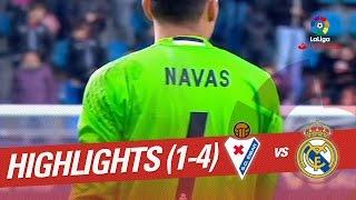 Resumen de SD Eibar vs Real Madrid (1-4)