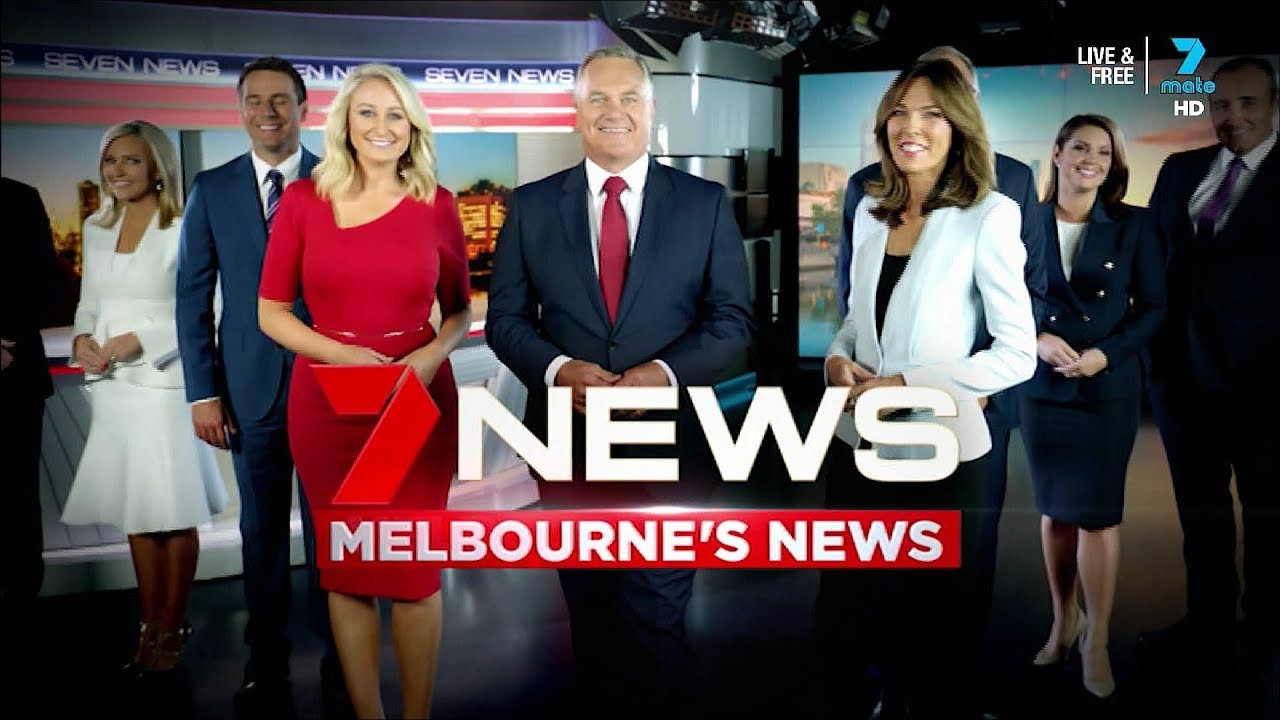 Seven News Melbourne promo broadcast nationally on 7Mate