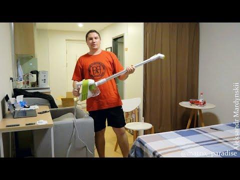 小狗 D-521 Cyclone Handheld Vacuum Cleaner! Маленький ручной пылесос для дома за небольшие деньги!
