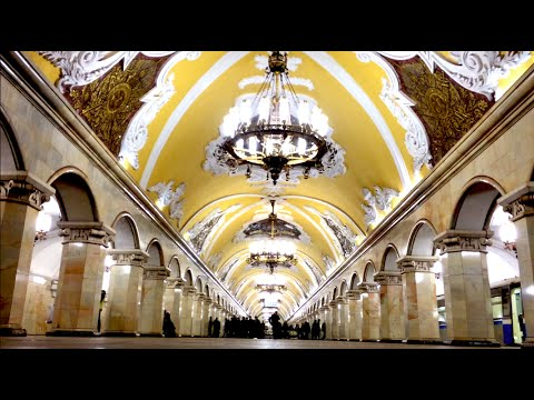 Moscow Metro - The Most Beautiful In The World