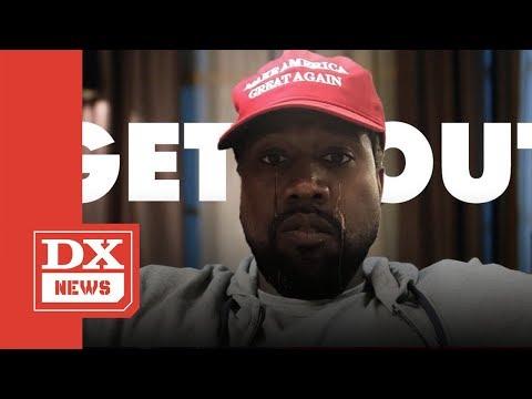 Kanye West Says He Loves Donald Trump & Hip Hop Loses It's Mind