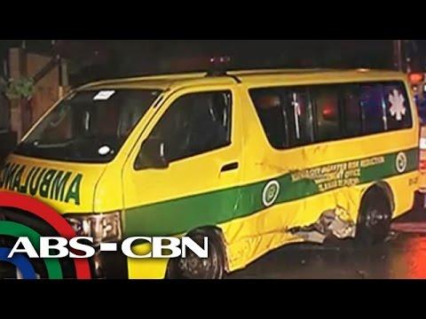 UKG: Ambulansyang susundo sana ng pasyente, sumalpok sa jeep