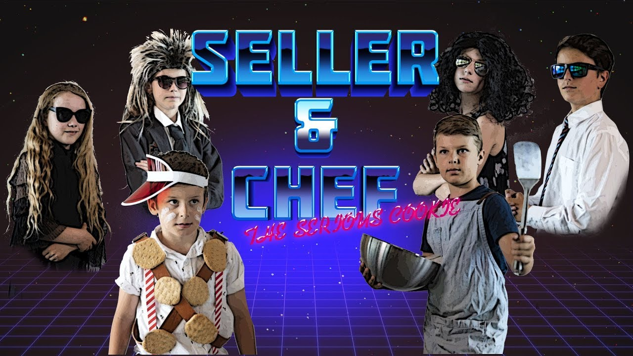 SELLER & CHEF and the serious cookie - M-CREATIV'Kids