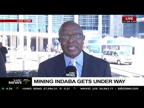 Mining Indaba Gets Underway, Manelisi Dubase Reports