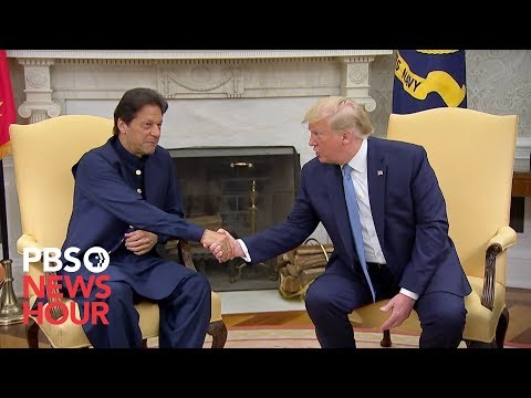 watch:-trump-meets-with-pakistani-prime-minister-imran-khan