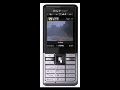 SonyEricsson Naite-clicking and sending picture