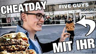 1 Tag lang essen wie GYM DANIELS🍔🍕 (Cheatday mit meiner Freundin)😍