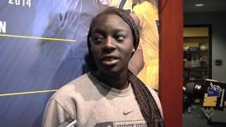 Women's Soccer: Michaela Abam Penn State Preview