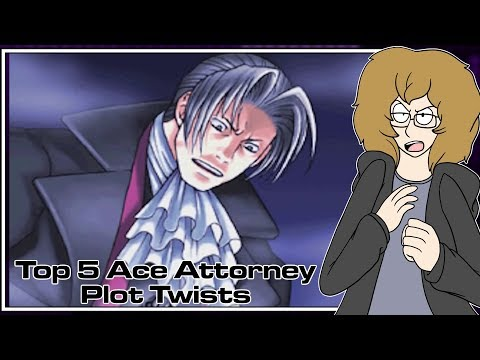 Top 5 Ace Attorney Plot Twists - Turnabout Robin