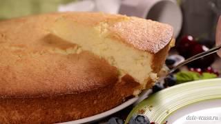 Манник на кефире - простой рецепт вкусного манника