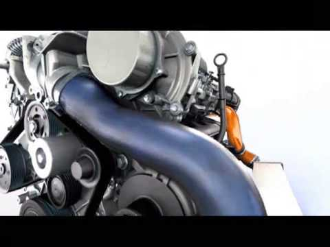 Фото к видео: Nissan V6 diesel engine