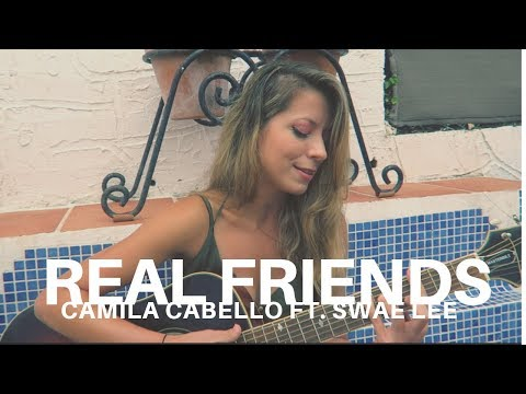 Real Friends by Camila Cabello ft.  Swae Lee - Cover by Jackie Torres