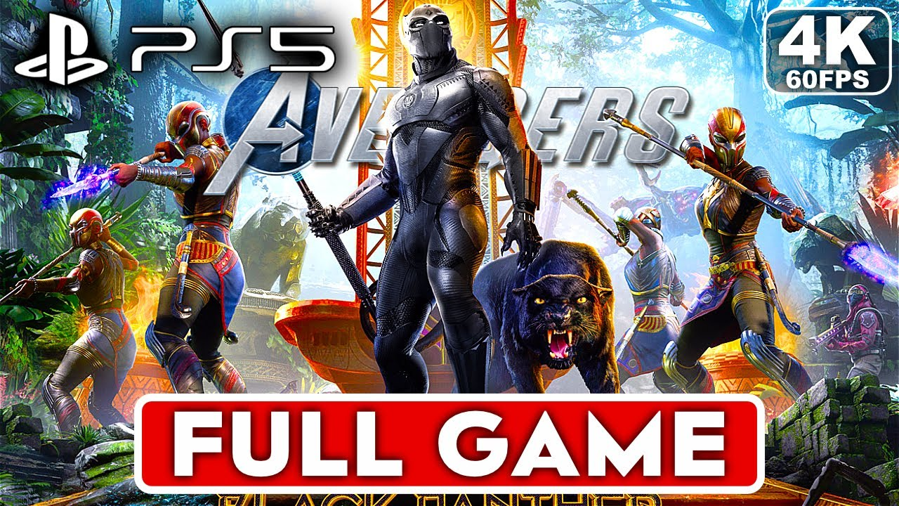 Download MARVEL'S AVENGERS BLACK PANTHER PS5 Gameplay Walkthrough Part 1 FULL GAME [4K 60FPS] - No Commentary