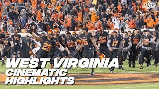 Cowboy Football: Cinematic Highlights vs. West Virginia