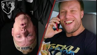 Furious Pete, Wanna Workout? Competitive Eater's 1st Time Boxing