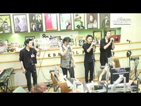 [Vietsub] 130802 EXO - Baby Don't Cry Live @ Yoo In Na Volume Up Radio