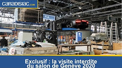 Exclusif Caradisiac : la visite interdite du salon de Genève 2020
