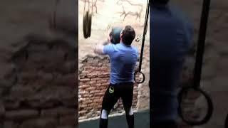 Lutador Matheus Serafim Treino Funcional #1