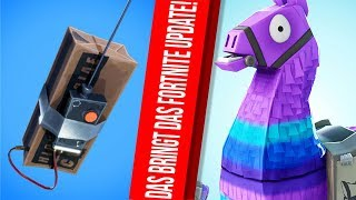 Great FORTNITE UPDATE - These are the new SKINS, ITEMS and FEATURES!