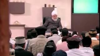 Gulshan-e-Waqfe Nau Khuddam, 10 Oct 2010, Educational class with Hadhrat Mirza Masroor Ahmad(aba)