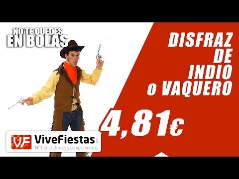 Disfraz De Indios y Vaqueros #YoNoMeQuedoEnBolas - ViveFiestas.com