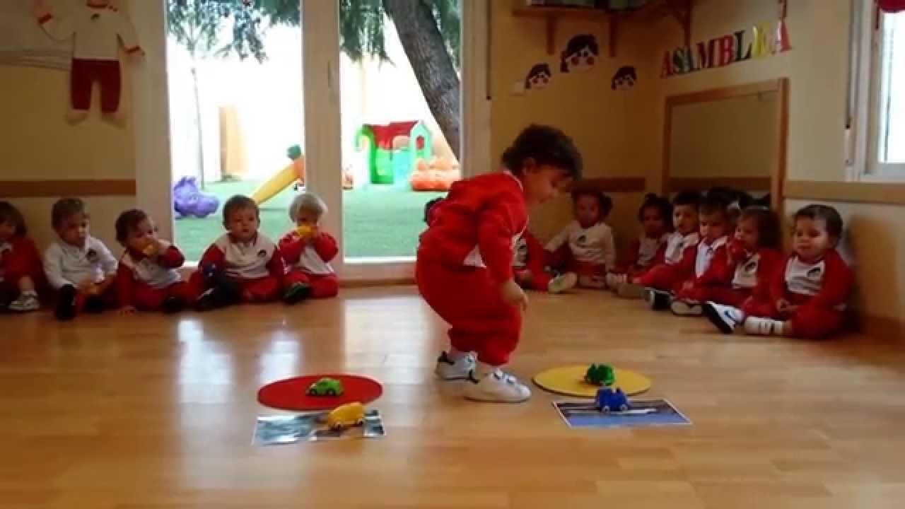 Con esta actividad los pecos s de 18 22 meses for Actividades para jardin infantil